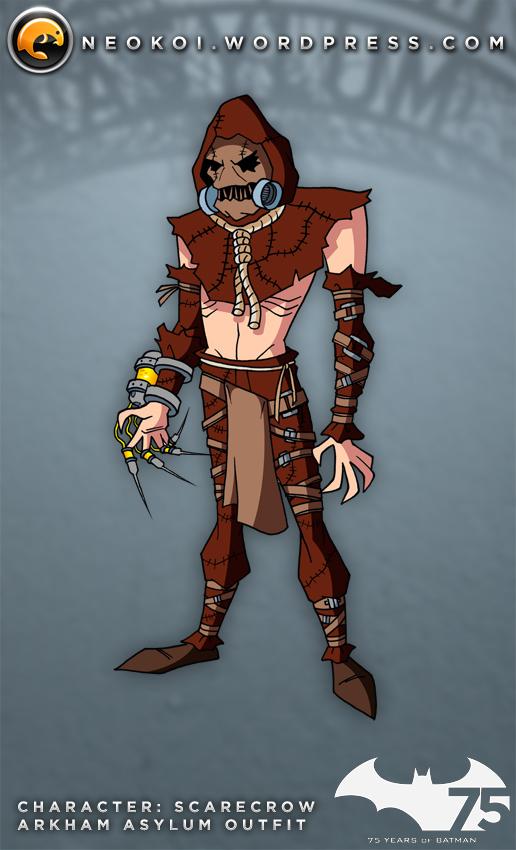 Scarecrow TAS meets Arkham Videogames by Neokoi