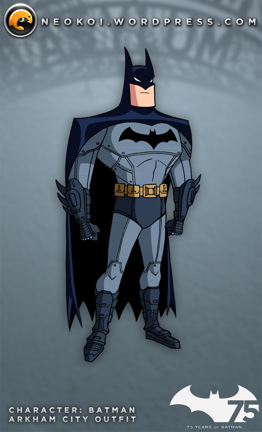 Batman TAS meets Arkham City by Neokoi