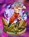 Ultra Instinct Goku - Concept art