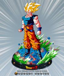 Goku in Namek - Concept Art