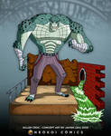 Killer Croc concept art by Neokoi