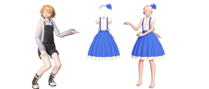 [MMD]Young Alice outfit download