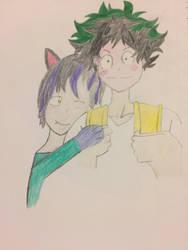 myself and Izuku