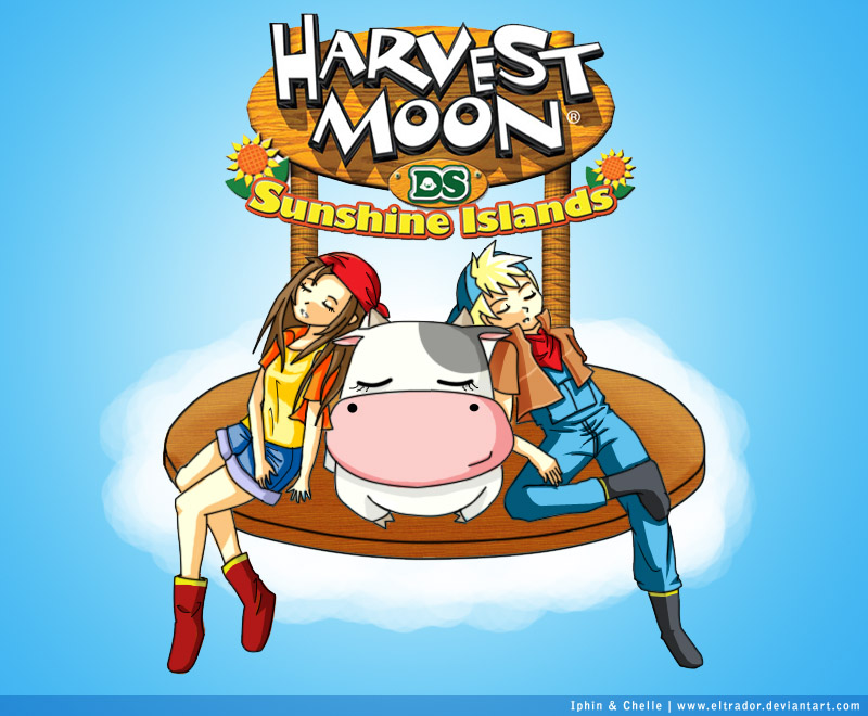 Collab - Harvest Moon by Eltrador