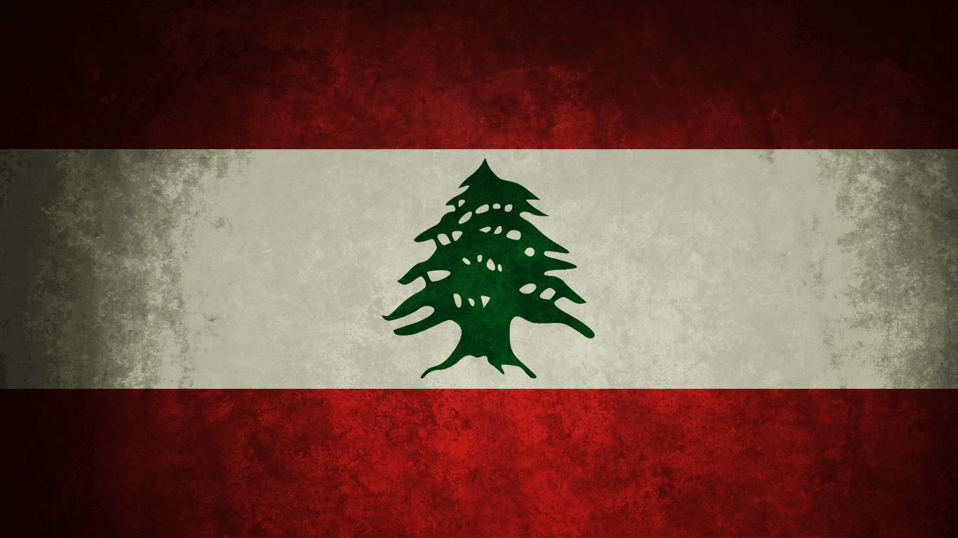 Lebanese Grungy Flag by yousefcia on DeviantArt