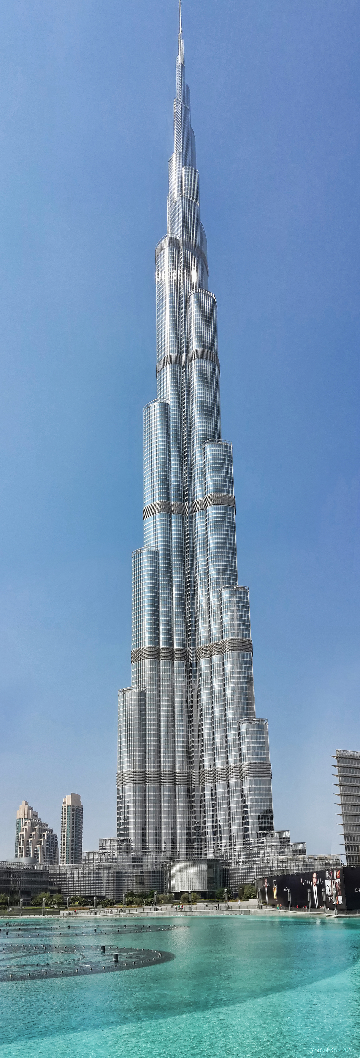 Burj Khalifa HDR by yousefcia