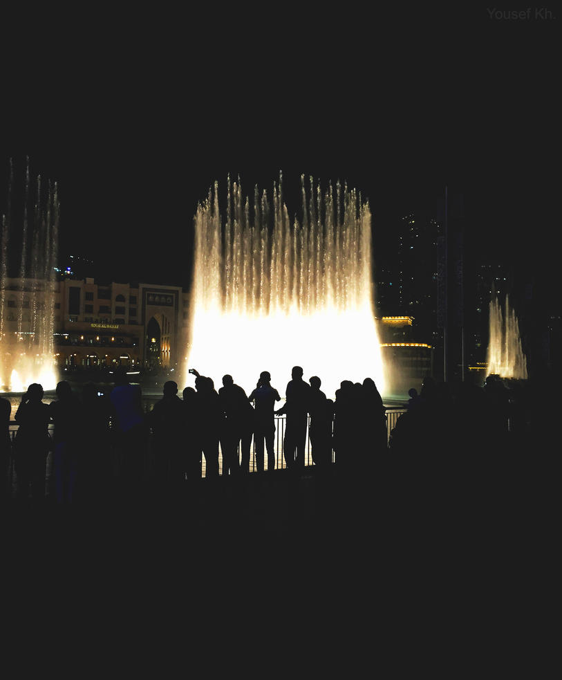 Fountain nights by yousefcia