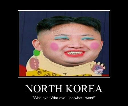 North Korea - A Demotivator by RustySteele