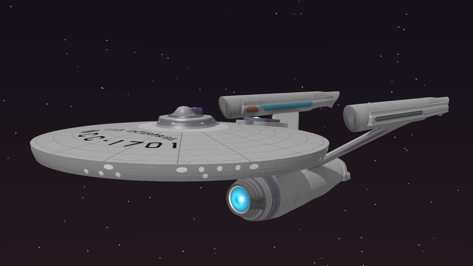 USS Enterprise NCC 1701 - 1 by petrnohejl