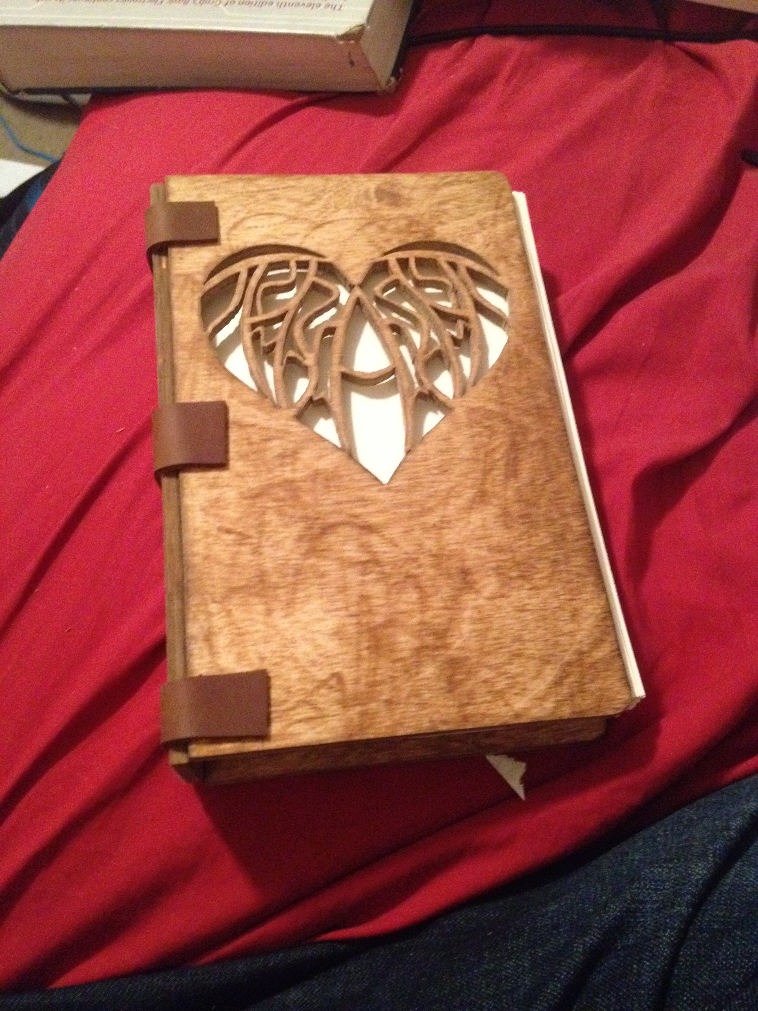 hand bound book with wooden covers by darkevil47 on deviantart