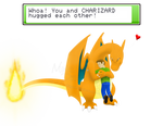 Commission - MottDropsie: 'Zard Love by Mike-Dragon