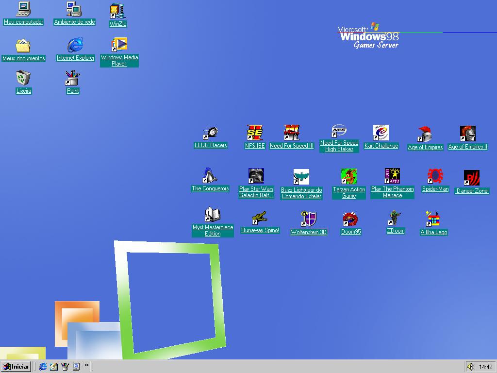win 98 games server desktop by mike dragon on deviantart On window 98 games