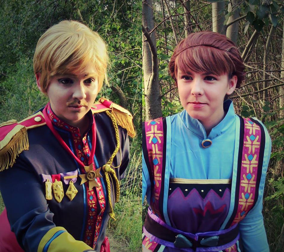 Frozen-King Agdar and Queen Idun - Shall we? by ignasiak