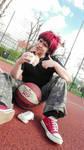 Kagami - Kuroko bo Basket cosplay by ignasiak