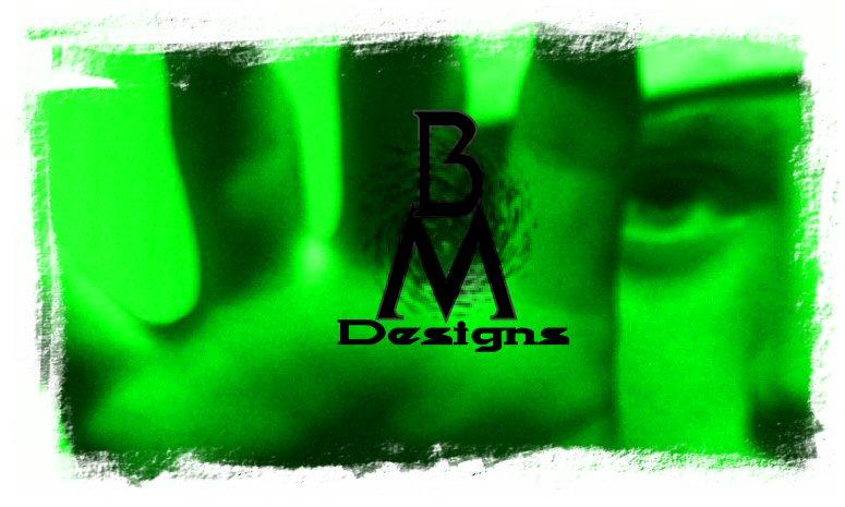business card green