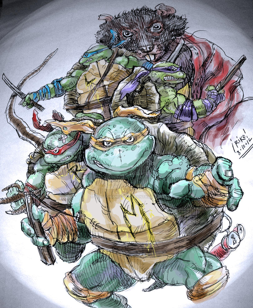 Heroes in a Half Shell by EnricoManiago