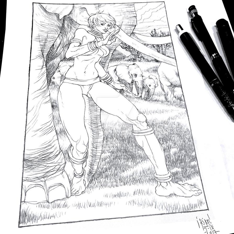 Elena Street Fighter by EnricoManiago