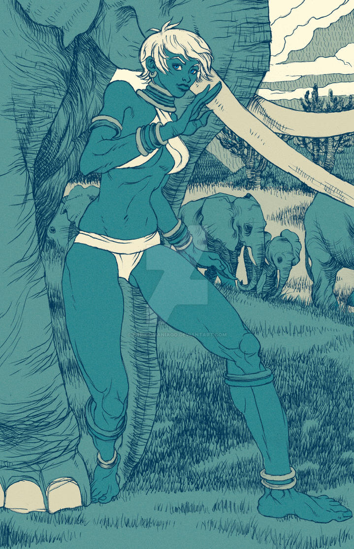 Elena ( Street Fighter ) by EnricoManiago