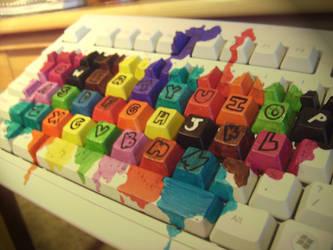 Color Keys. by AmToTheBur