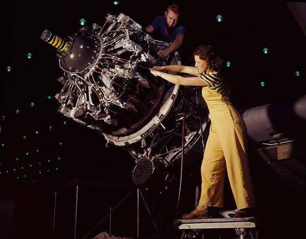 Yellow Pants at work on war ef