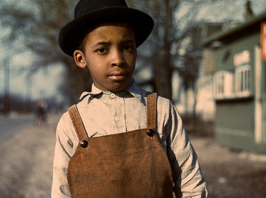 Boy with Bowler by makepictures