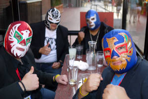 Luchadores by makepictures