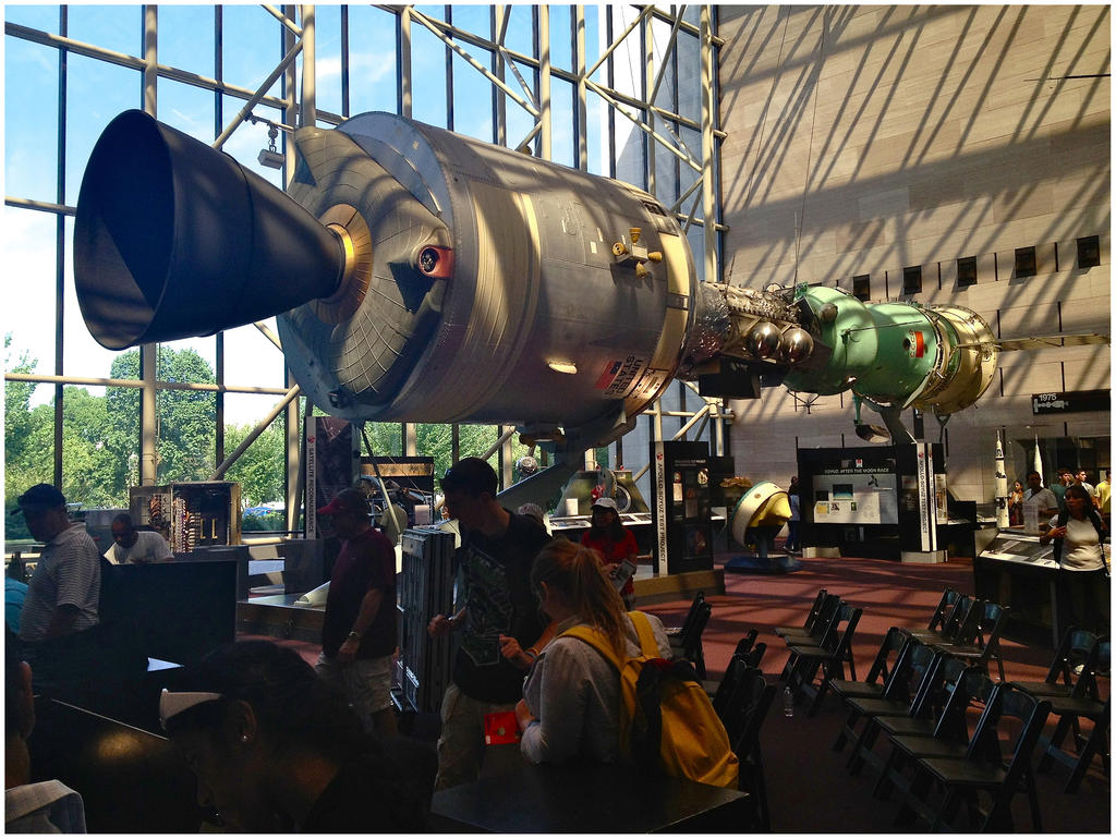 Apollo Soyuz by makepictures