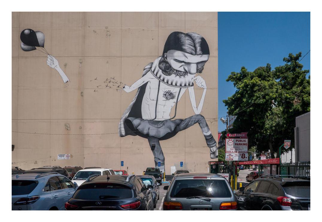 Loft District Street Art by makepictures