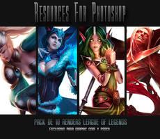 Pack de renders League of Legends by Nariele89