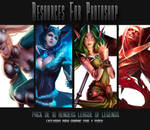 Pack de renders League of Legends