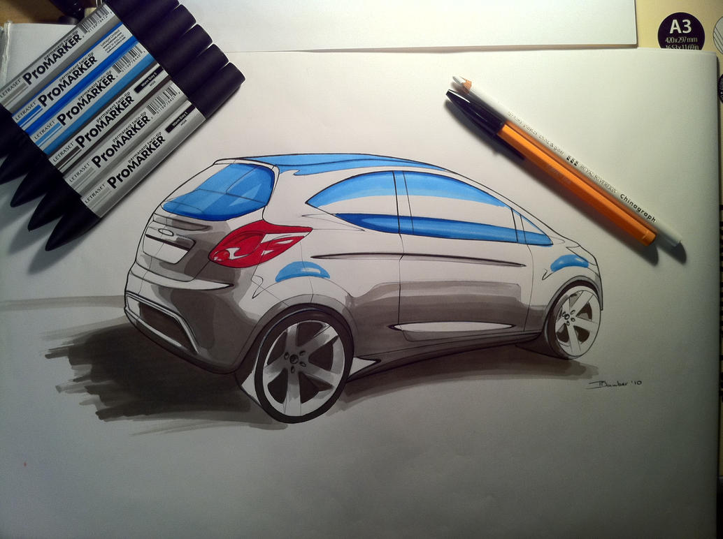 Ford KA by DrTr