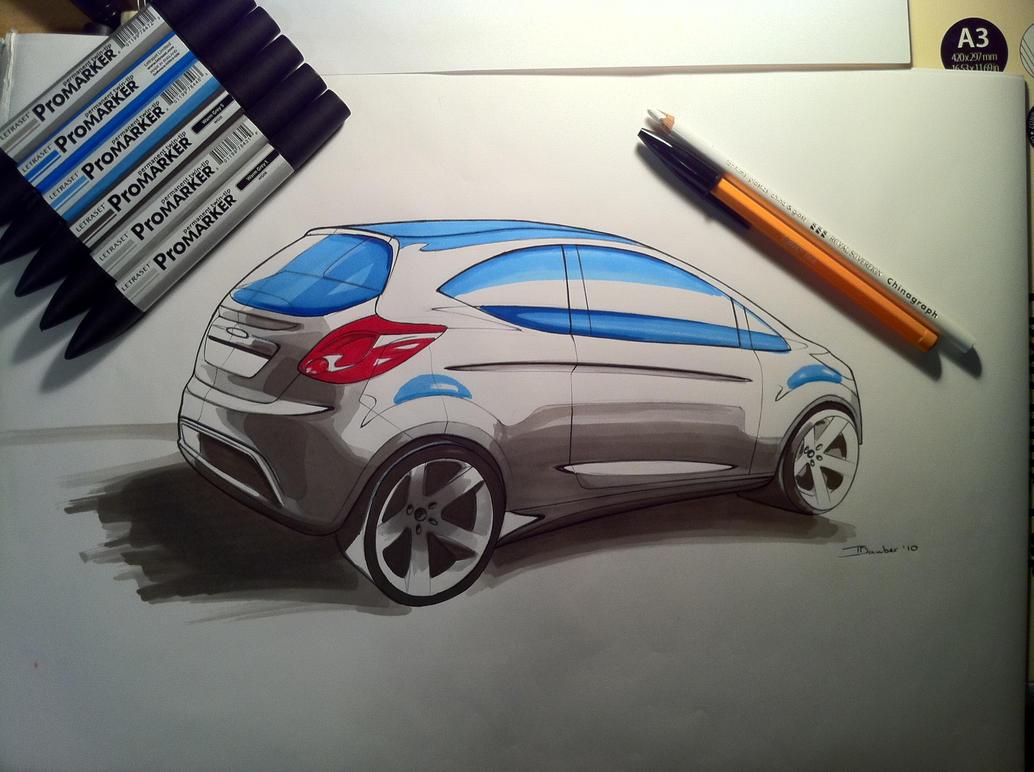 Ford KA by DrTr