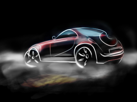Another car sketch by DrTr