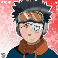 Happy Birthday Obito-kun X3 by Numbuh-9
