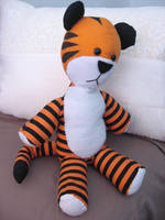 Hobbes Toy -Front by mellonhead