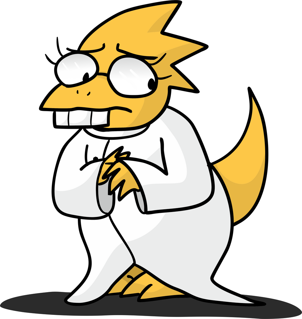 Alphys by ILOVEGIR64 on DeviantArt