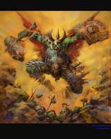 el The Orc Warrior_color by elshazam