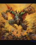 el The Orc Warrior_color
