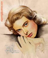 El Ingrid's portrait by elshazam