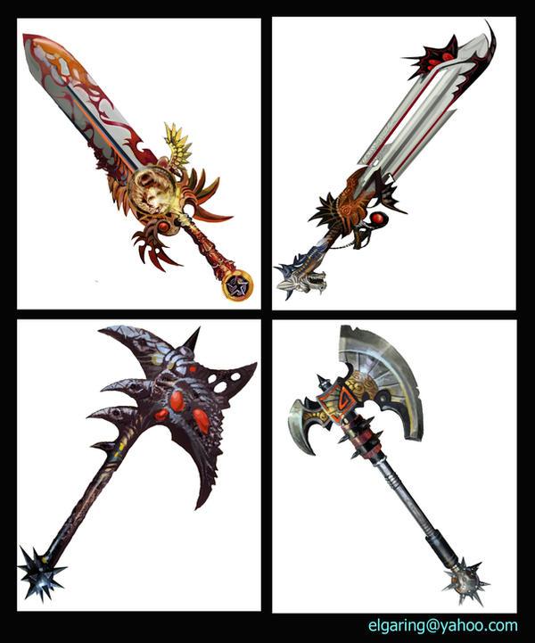 El Weapon x-medieval Fantasy by elshazam on DeviantArt