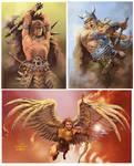 El Angel and Warriors