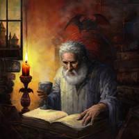 Wizard by elshazam