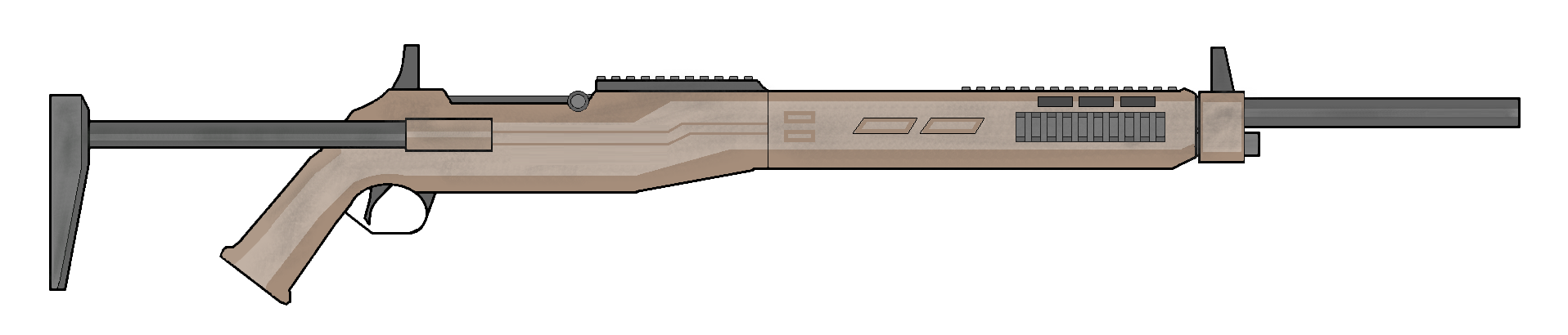 M1 Garand 2040 by Artmarcus