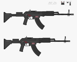 AK-24 by Artmarcus