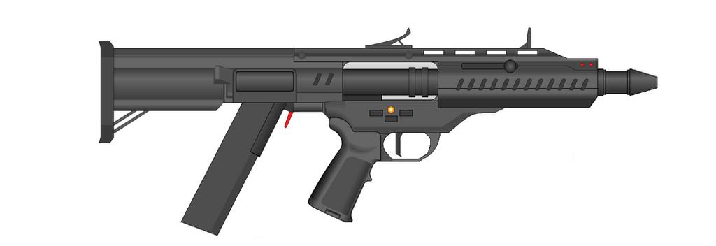 Vetnus Machine Gun SMG by Artmarcus
