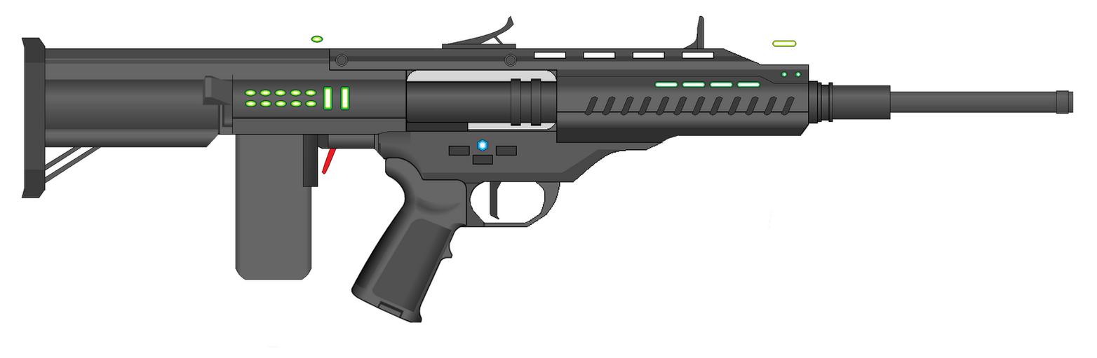 Vetnus Rifle Variant by Artmarcus