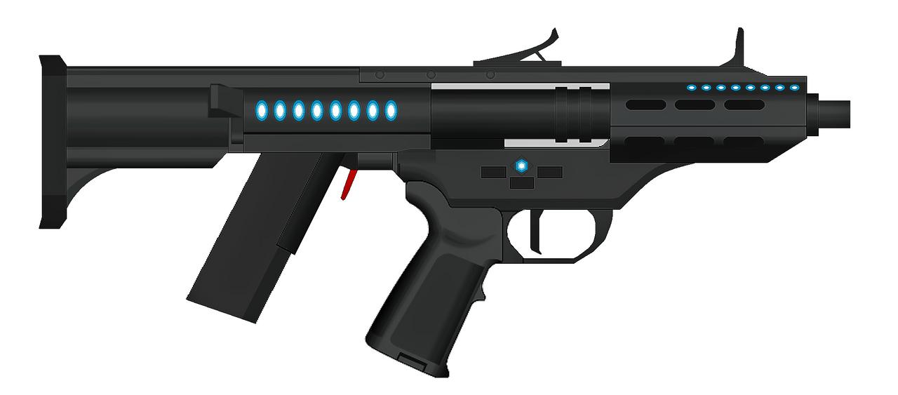 vetnus machine gun mini smg by artmarcus on deviantart