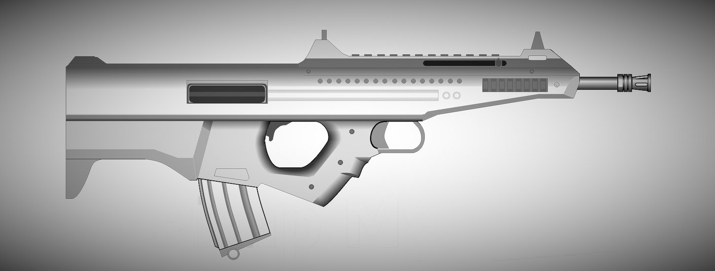 Untitled Rifle by Artmarcus