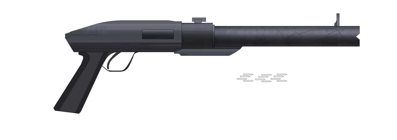 Short Barrel Shotgun - Heavy Shot concept idea by Artmarcus
