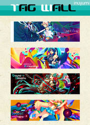 Tag Wall Colorful by OoINUYUMIoO